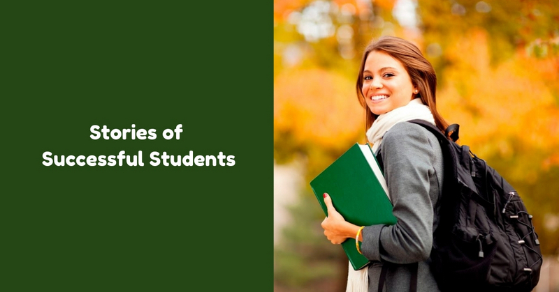 Stories of Successful Students